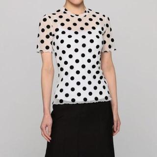 ジーヴィジーヴィ(G.V.G.V.)の2018SS  メッシュ ドット 半袖(シャツ/ブラウス(半袖/袖なし))