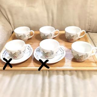 WEDGWOOD - ウエッジウッド 新品ピーターラビット ティーカップ&ソーサー ブランド コーヒー