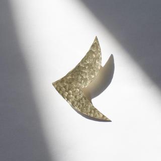 mina perhonen - 真鍮ブローチ とり bird ハンドメイド オリジナル