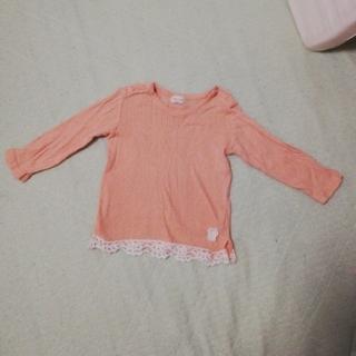 キッズズー(kid's zoo)のkid's zoo 長袖カットソー90サイズ(Tシャツ/カットソー)