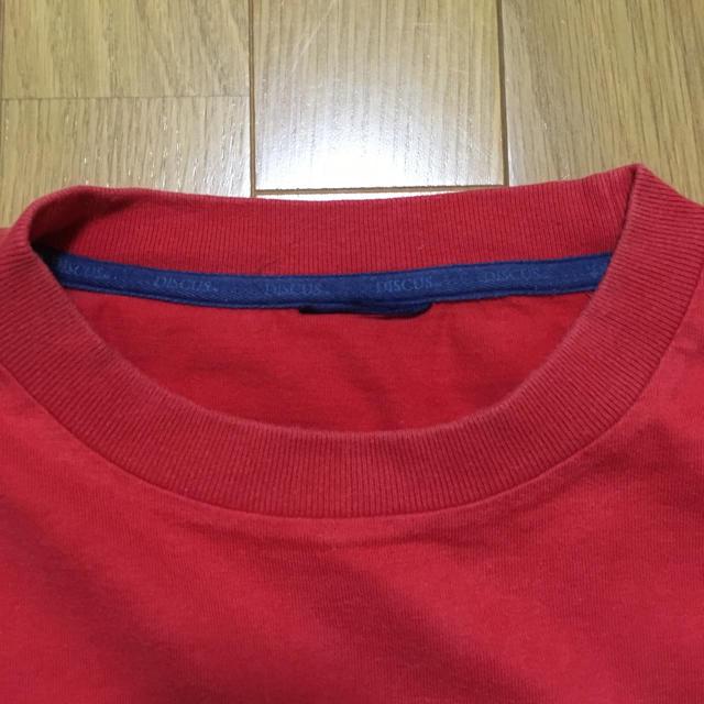 DISCUS(ディスカス)のDISCUS  メンズTシャツ サイズM メンズのトップス(Tシャツ/カットソー(半袖/袖なし))の商品写真