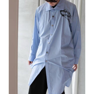Yohji Yamamoto - yohji ymamoto ストライプシャツ