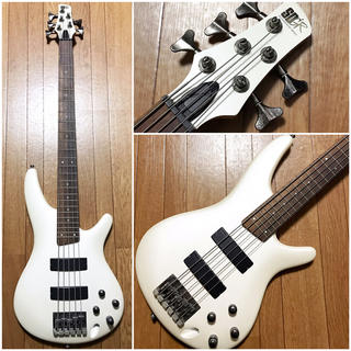 アイバニーズ(Ibanez)のIbanez送料込アイバニーズ5弦ベースギターBASSアクティブでパワフル格安(エレキベース)