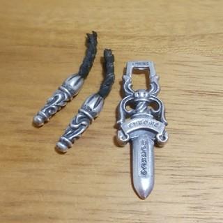 クロムハーツ(Chrome Hearts)のふじゅけん様専用 クロムハーツ ネックレス ダガーヘッド チップ(ネックレス)