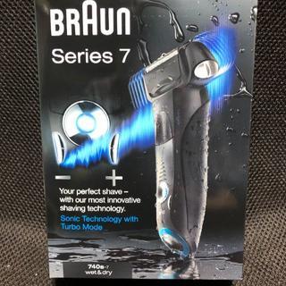 ブラウン(BRAUN)のブラウン シリーズ7 740s-7  未使用、未開封品(メンズシェーバー)