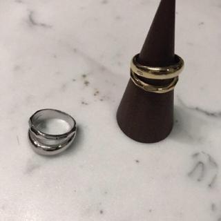 トゥデイフル(TODAYFUL)のTODAYFULトゥデイフル Texture Line Ring シルバー(リング(指輪))