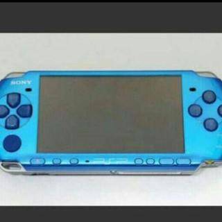 プレイステーション(PlayStation)のPSP ブルー(携帯用ゲーム本体)