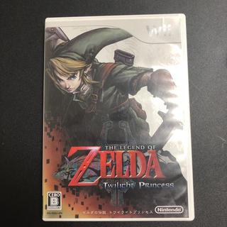ウィー(Wii)のゼルダの伝説トワイライトプリンセス(家庭用ゲームソフト)
