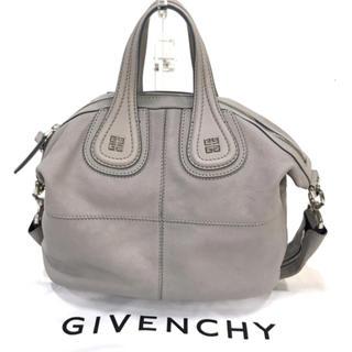 ジバンシィ(GIVENCHY)の【人気】GIVENCHY ナイチンゲール スモール グレー 2way(ハンドバッグ)