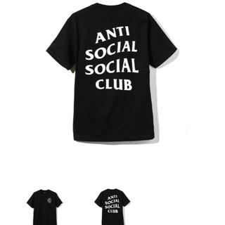アンチ(ANTI)のアンチソーシャルソーシャルクラブ tシャツ(Tシャツ/カットソー(半袖/袖なし))