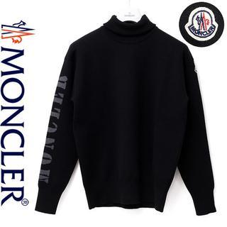 モンクレール(MONCLER)の5MONCLER ブラックハイゲージウール混ハイネックニット(ニット/セーター)