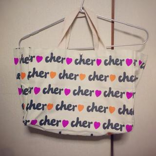 シェル(Cher)のcher▼ロゴ入りトートバッグ(トートバッグ)