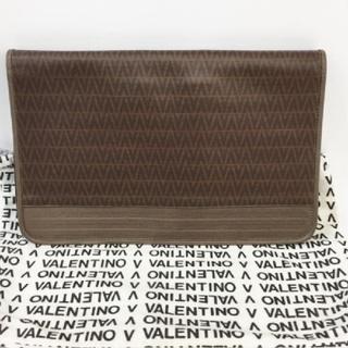 マリオバレンチノ(MARIO VALENTINO)のヴァレンチノ アイグナー セカンド/クラッチバッグ 茶系 保管袋付き(セカンドバッグ/クラッチバッグ)