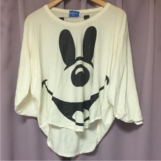 ディズニー(Disney)のミッキー ポンチョ Tシャツ(Tシャツ(長袖/七分))