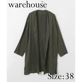 ウエアハウス(WAREHOUSE)の【新品】warehouse ロングガウン カーキ(その他)