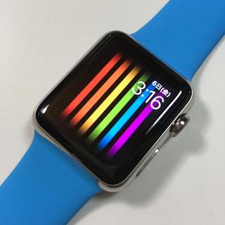 未使用 Apple Watch 38mm  青バンド