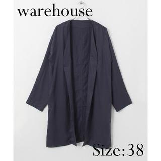ウエアハウス(WAREHOUSE)の【新品】warehouse ロングガウン ネイビー(その他)