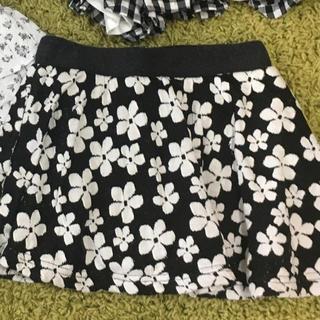 ハッカキッズ(hakka kids)のハッカキッズ べべ スカート 半袖 2枚セット(スカート)