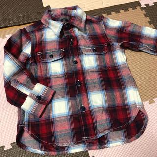 ベビーギャップ(babyGAP)のgap キッズ チェックシャツ babygap 90 PENDLETON(ジャケット/上着)