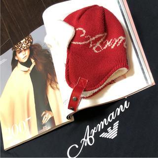 アルマーニ ジュニア(ARMANI JUNIOR)のARMANI BABY お帽子   ⭐︎ おサイズ  S   ⭐︎(帽子)