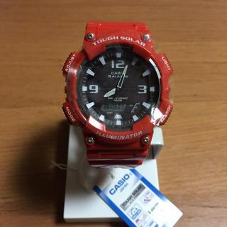 カシオ(CASIO)のおしゃれ カシオ  アナデジ タフソーラー 未使用 ユニセックス(腕時計(デジタル))