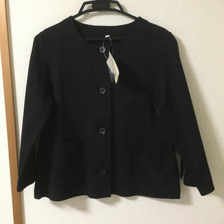 MUJI (無印良品) - 無印良品 ノーカラージャケット