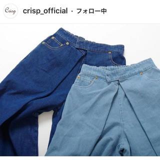 クリスプ(Crisp)のcrisp フロントタックバギーパンツ(バギーパンツ)