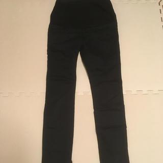 MUJI (無印良品) - 無印良品 マタニティパンツ ブラック クロ Mサイズ