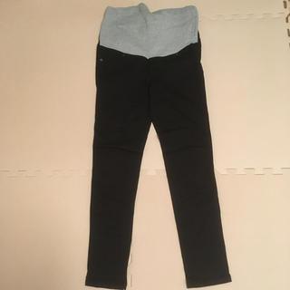 MUJI (無印良品) - エンジェリーベ マタニティパンツ ブラック 黒 Pパンツ