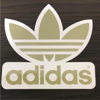 アディダス(adidas)の【縦13.8cm横13.7cm】adidas  skateboardステッカー(ステッカー)