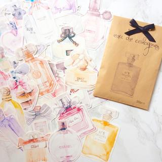 香水瓶☆メッセージカード