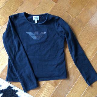 アルマーニ ジュニア(ARMANI JUNIOR)のアルマーニ カットソー キラキラでカッコいいです(Tシャツ/カットソー)
