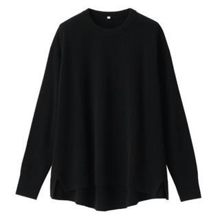 MUJI (無印良品) - 無印良品 今期新作新品 ヤクウールクルーネックセーター