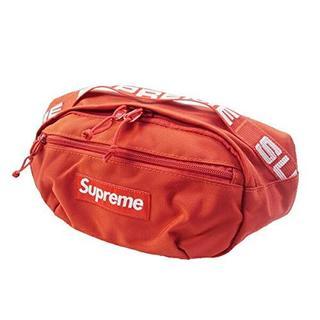 シュプリーム(Supreme)のSUPREME シュプリーム 18SS Waist Bag ウエストバッグ 赤 (リュック/バックパック)