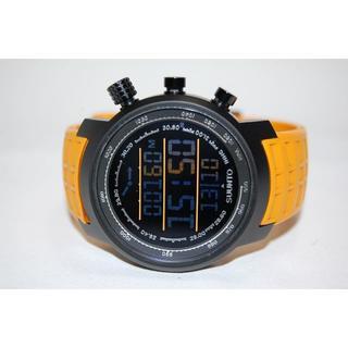 スント(SUUNTO)のスント ELEMENTUM TERRA 登山用腕時計 革ベルト付き 正規品(腕時計(デジタル))