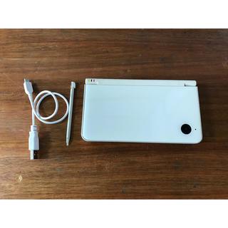 ニンテンドーDS(ニンテンドーDS)のニンテンドー DSi LL ホワイト(携帯用ゲーム機本体)