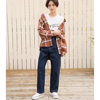 LOWRYS FARM - ローリーズ♡BIGサイズチェックシャツ
