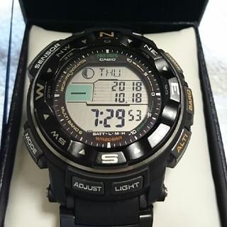 カシオ(CASIO)の⭐定価の半額以下❗❗⭐プロトレック 電波ソーラー PRW-2500-1JF(腕時計(デジタル))