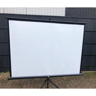 プロジエクタースクリーン 三脚式 85型相当(ロールスクリーン)