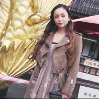 安室奈美恵 着用 ZARA ライダースジャケット