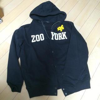 ズーヨーク(ZOO YORK)の【ZOO YORK】フロントボタンパーカー(パーカー)