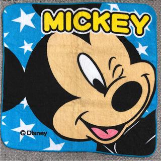 ディズニー(Disney)の☆ディズニー(ミッキー&チップとデール)ハンドタオル☆(ハンカチ)