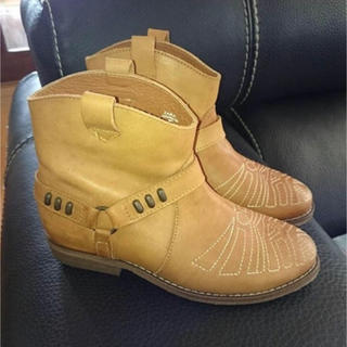 ザラ(ZARA)のレザーブツ(ブーツ)