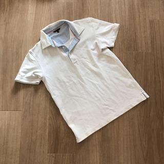 ユニクロ(UNIQLO)のユニクロ▪️ポロシャツ▪️M▪️白▪️メンズ(ポロシャツ)