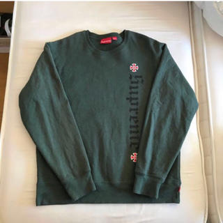 シュプリーム(Supreme)のsupreme independent crewneck(スウェット)