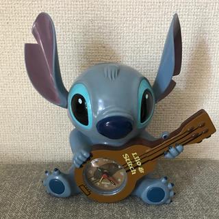 Disney - スティッチ 目覚まし時計 置き時計