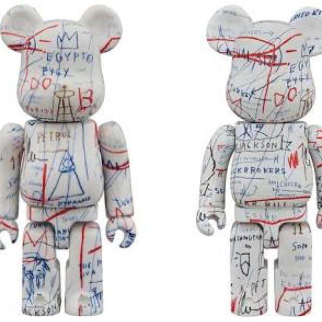 MEDICOM TOY(メディコムトイ)のバスキア ベアブリック 1000% BE@RBRICK BASQUIAT #2 エンタメ/ホビーのおもちゃ/ぬいぐるみ(キャラクターグッズ)の商品写真