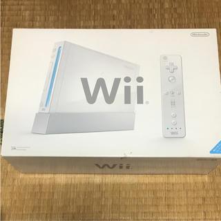 ウィー(Wii)のWii本体(家庭用ゲーム本体)