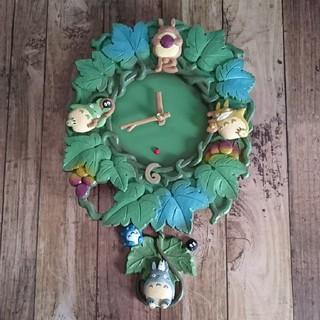 ジブリ - トトロ 壁掛け時計 振り子時計 ジブリ