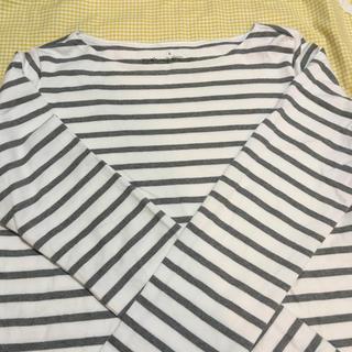 ムジルシリョウヒン(MUJI (無印良品))の無印 ボーダーカットソー  (Tシャツ(長袖/七分))